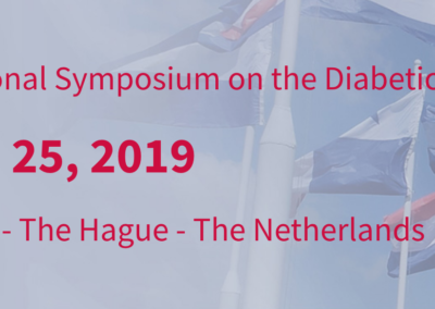 May 22-25, 2019: 8th International Symposium on the Diabetic Foot